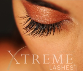 Wimpern mit xtreme-lashes